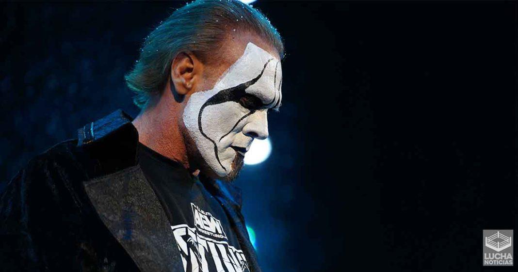 Sting no está contento con la manera que fue tratado en la WWE