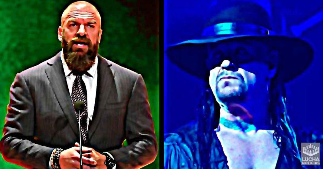 Undertaker en platicas con Triple H para un nuevo trabajo en WWE