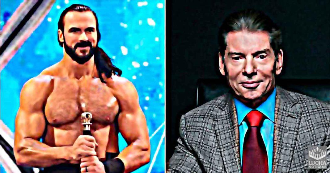 Vince McMahon detrás de la nueva entrada de Drew McIntyre