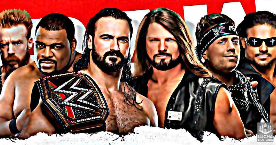WWE RAW en vivo, Cobertura y Resultados 21 de diciembre