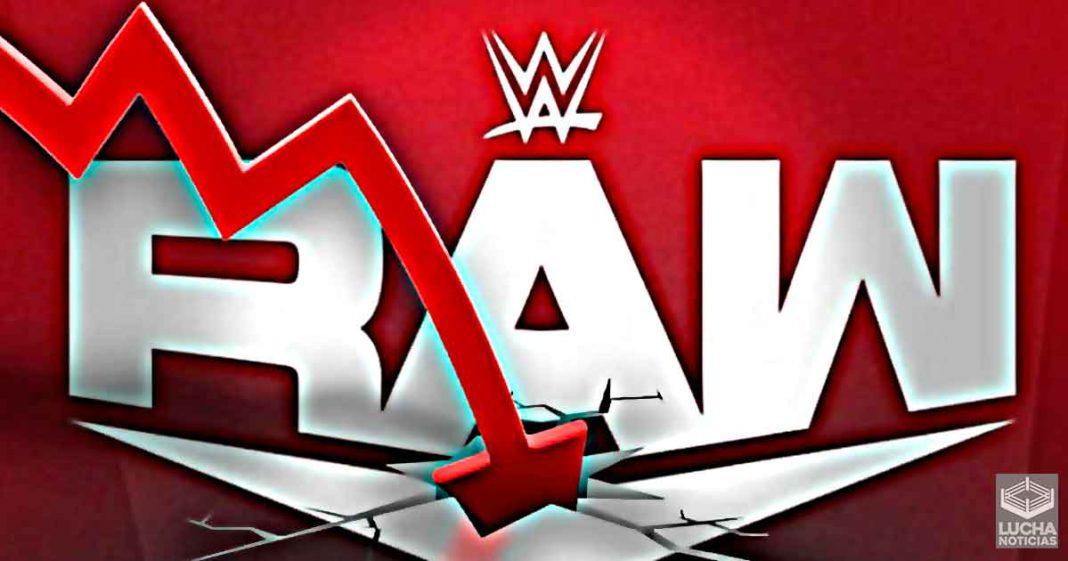 WWE tomará medidas drásticas trás la baja história de ratings en RAW