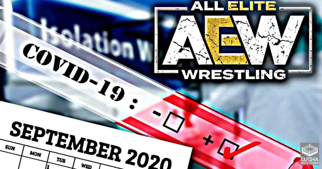 AEW permitió a Chris Jericho trabajar con COVID-19 en septiembre