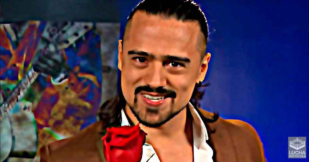 Ángel Garza está listo para conquistar a una de las leyendas femeniles en RAW