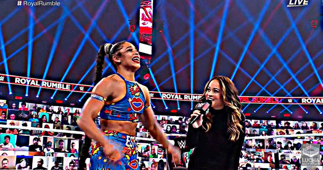 Bianca Belair gana el Royal Rumble y va a WrestleMania 37