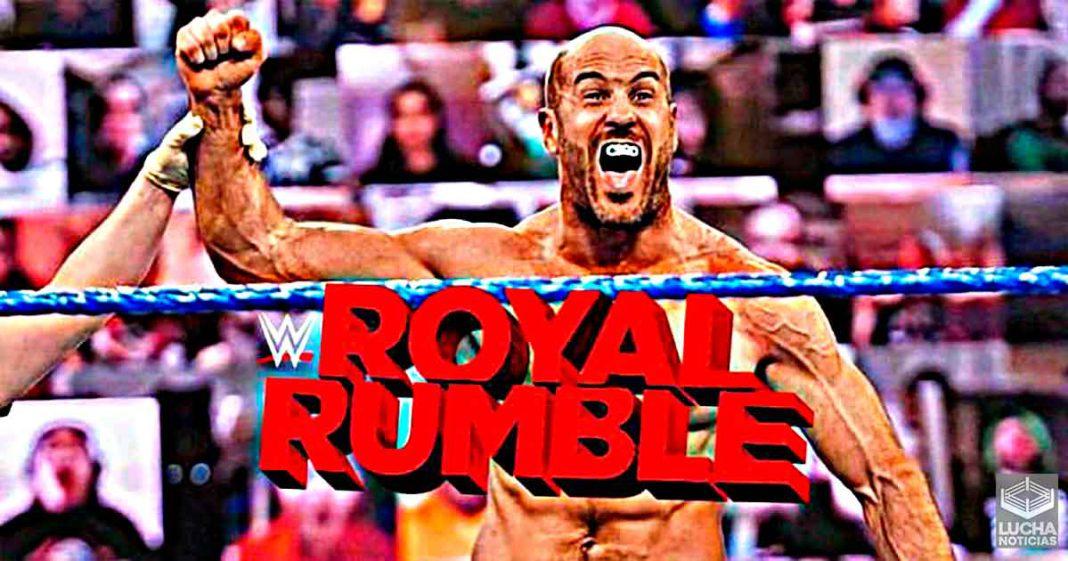 Cesaro podría ganar el WWE Royal Rumble 2021