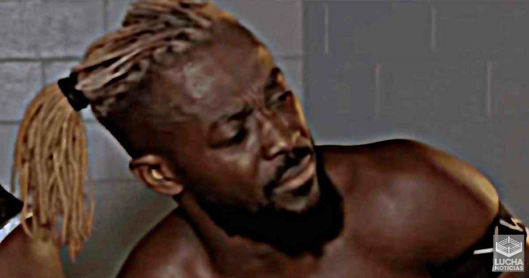 Cuándo se dio cuenta Kofi Kingston que estaba lesionado