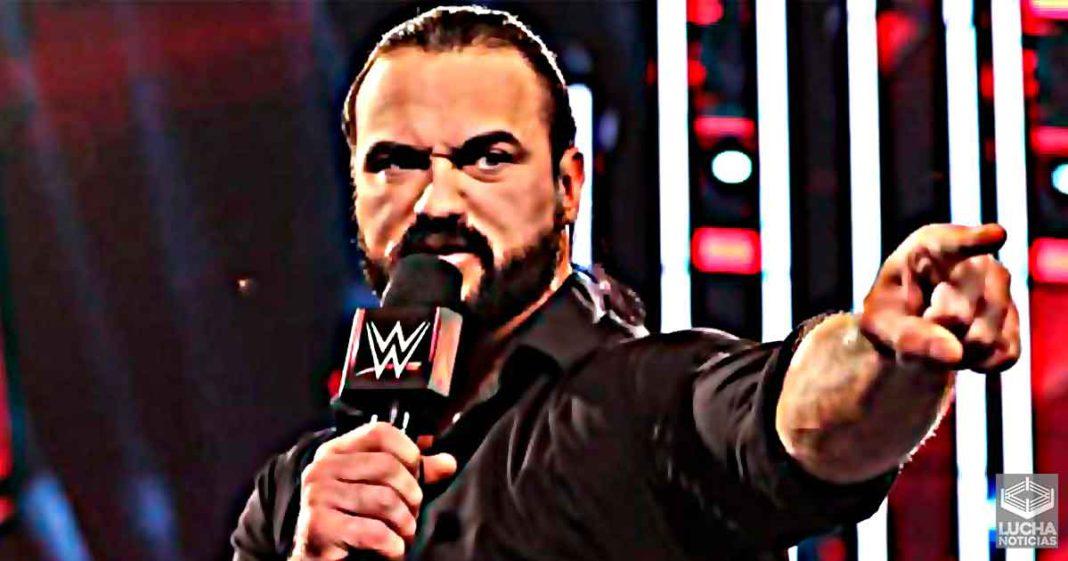 Drew McIntyre no es el unico caso positivo de COVID-19 en WWE