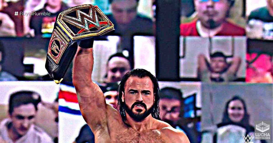 Drew McIntyre vence a Goldberg y retiene el campeonato de la WWE en Royal Rumble