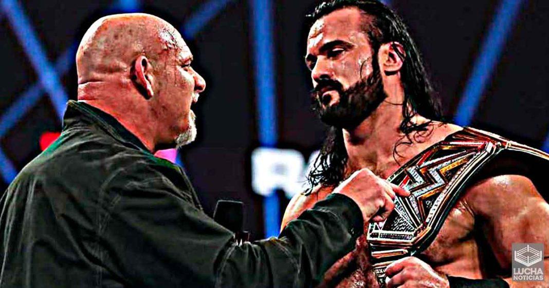 Drew McIntyre vs Goldberg sorprenderá a muchos fans en Royal Rumble