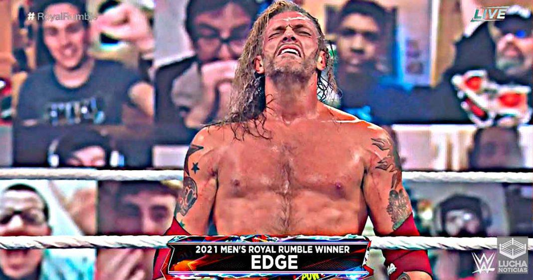 Edge gana el Royal Rumble y va a WWE WrestleMania