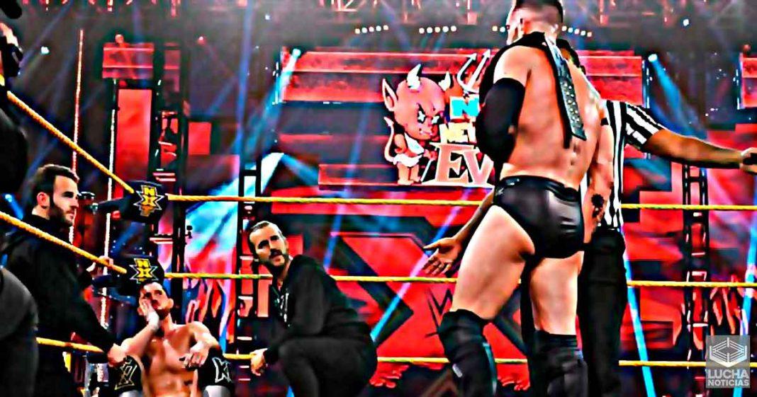 Finn Bálor y Kyle O'Riley son hospitalizados luego de NXT New Years