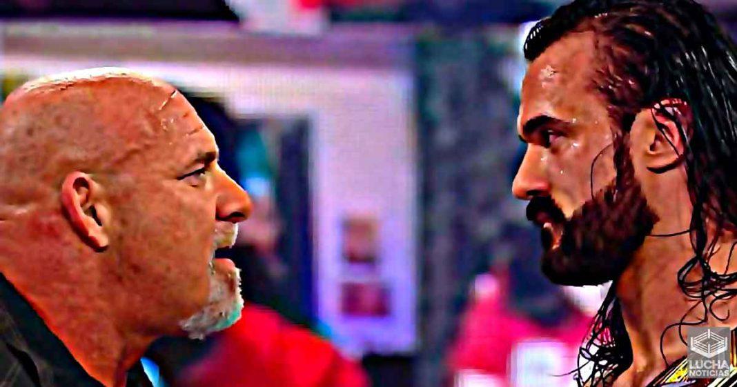 Goldberg regresa y enfrentará a Drew McIntyre en Royal Rumble por el campeonato