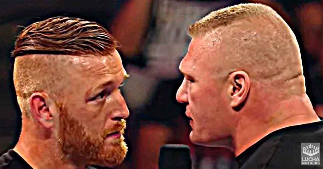 Heath Slater dice que quería darle un puñetazo en la cara a Brock Lesnar