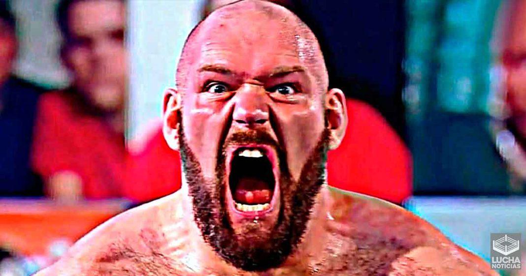 Lars Sullivan regresa antes del WWE Royal Rumble