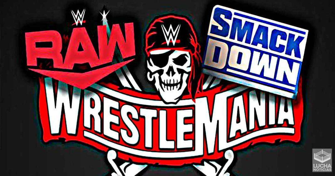 Planes para RAW y SmackDown en WrestleMania 37