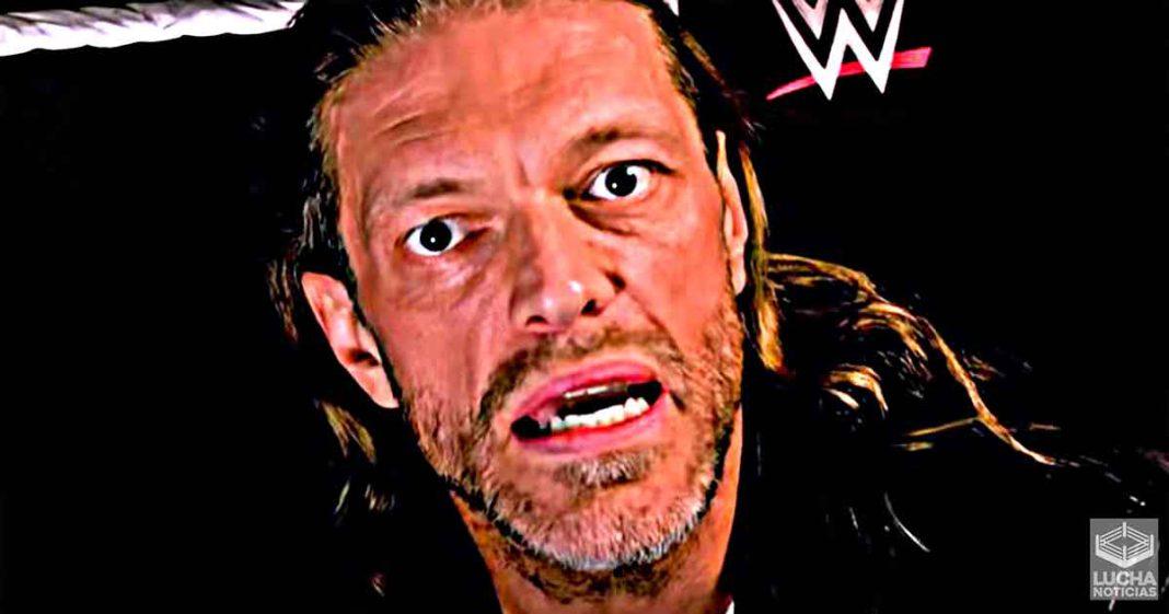 Razón por la cual Edge anunció su participación en el Royal Rumble