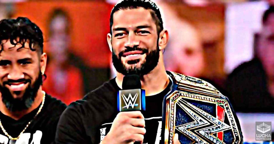 Razón por la cual WWE cambio los planes para Roman Reigns en SmackDown