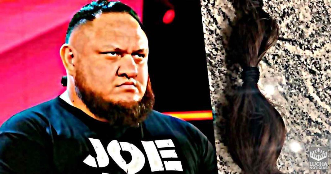 Samoa Joe se corta el pelo para ayudar a obra de caridad