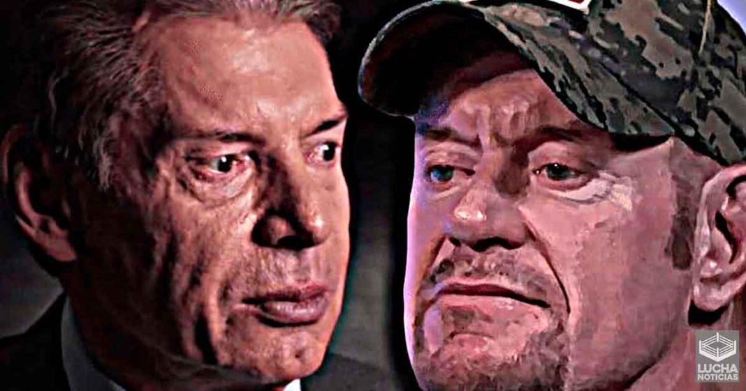 Undertaker revela la primera y terrible impresión que tuvo con Vince McMahon