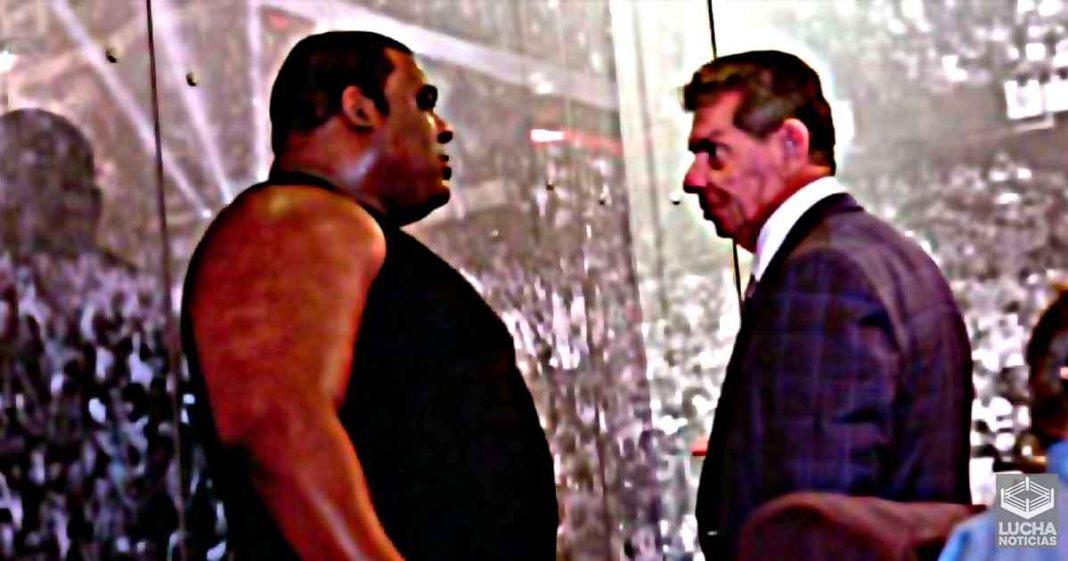 Vince McMahon rechaza a Keith Lee y elige al ganador del Royal Rumble
