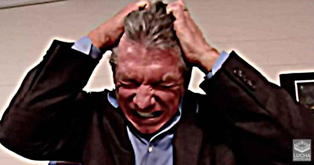 Vince McMahon se enoja por error en la producción de WWE SmackDown