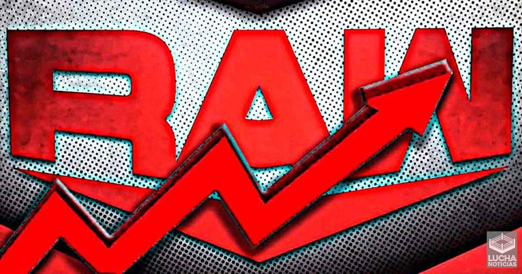 WWE RAW aumenta sus ratings muy poco