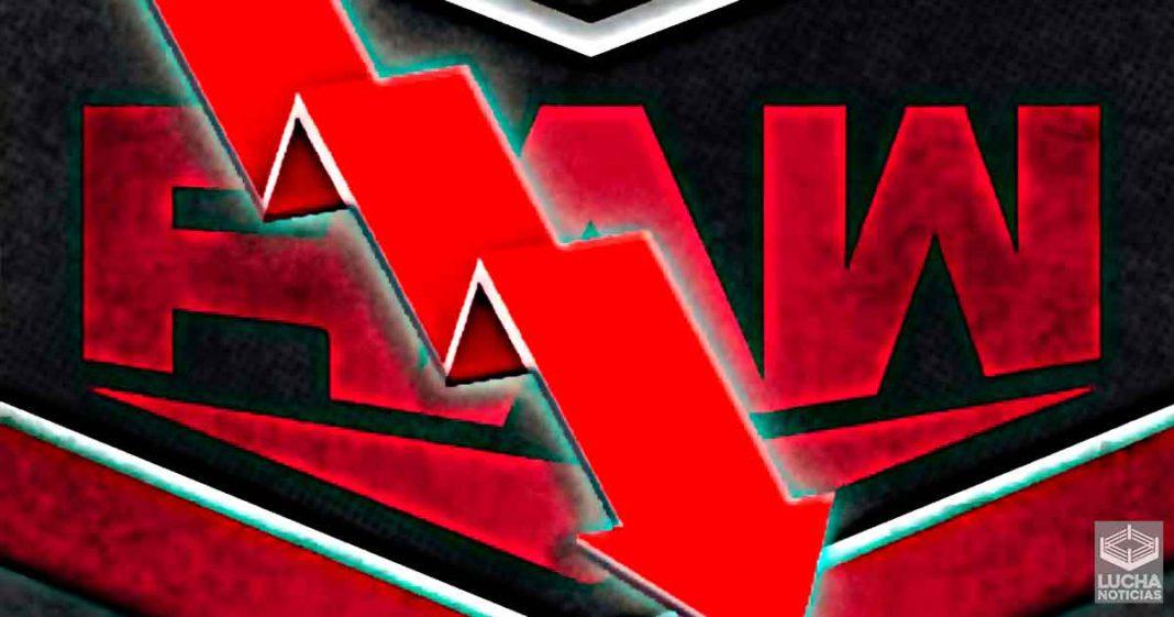 WWE RAW deciende abruptamente en sus ratings esta semana