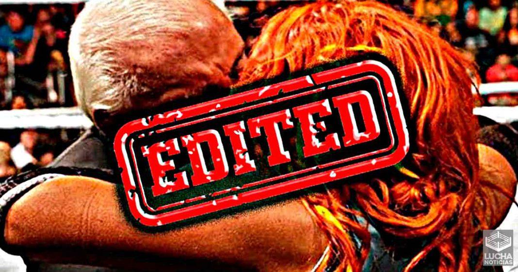 WWE elimina el beso de Becky Lynch y Ric Flair en Royal Rumble
