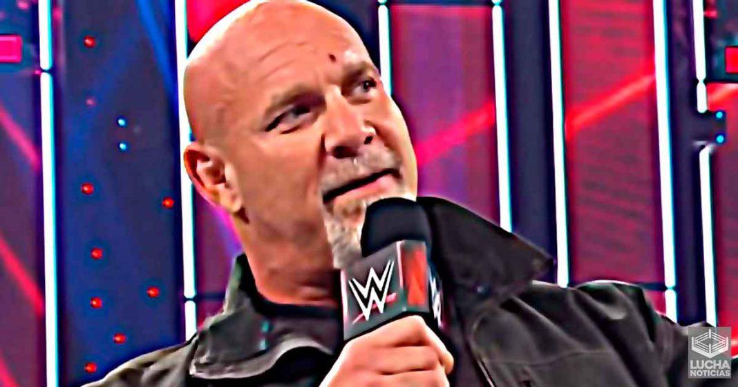 WWE espera que Goldberg repare el vacio que hay en WWE RAW