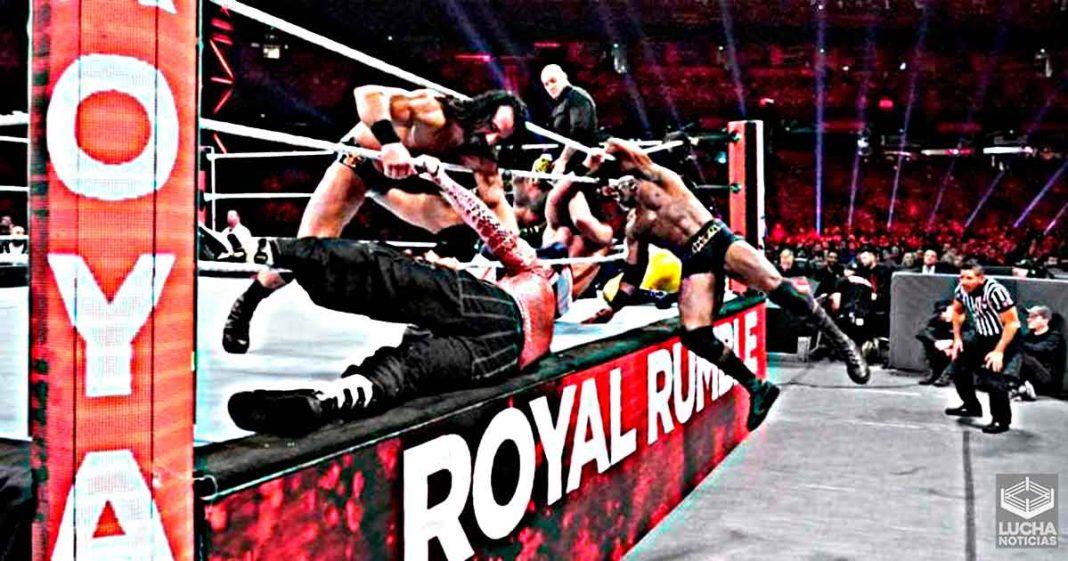WWE está considerando hacer una locura duran el Royal Rumble de hombres