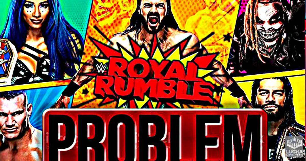 WWE está tratando de eliminar problema con Royal Rumble este año