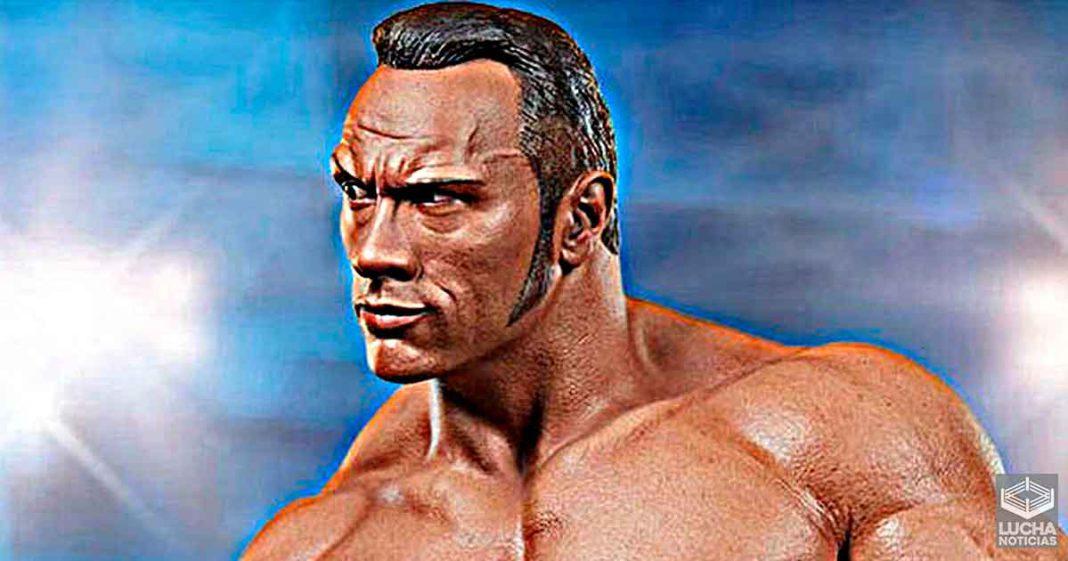 WWE está vendiendo una estatua de The Rock a $750 dólares
