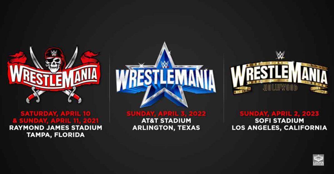 WWE WrestleMania 38 y WrestleMania 39