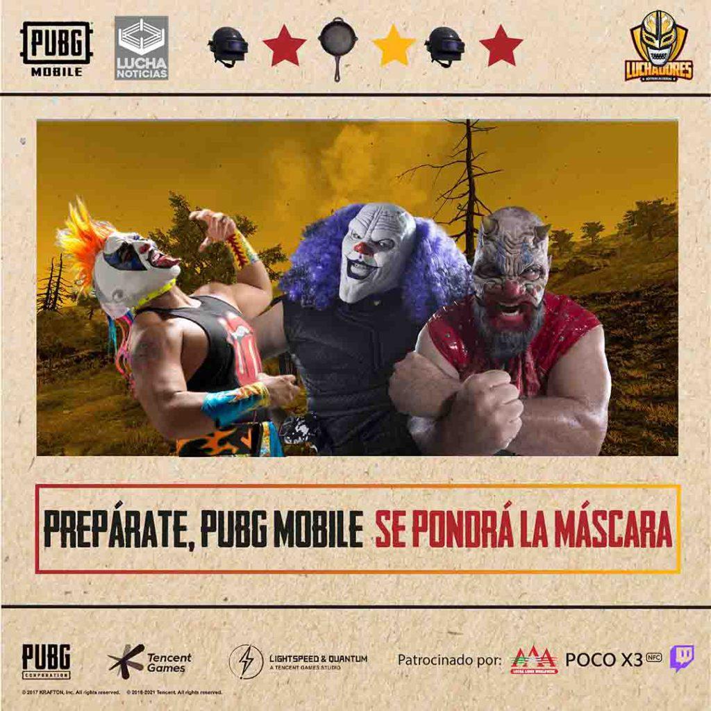 PUBG anuncia alianza con Lucha Libre AAA 2