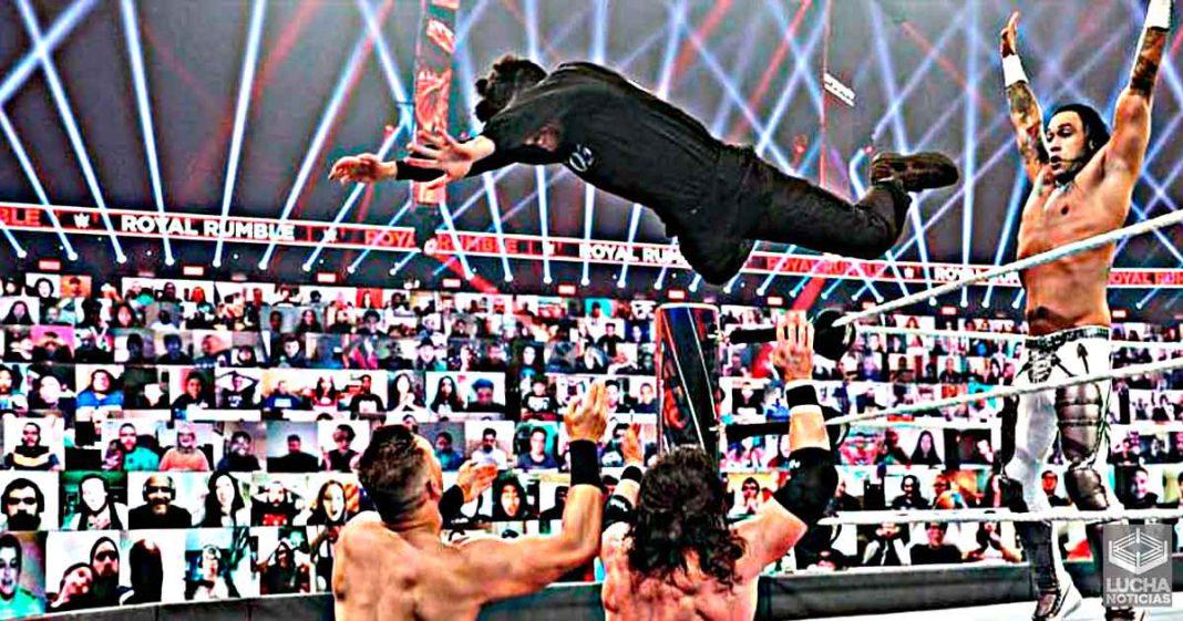 Bad Bunny atrae la atención de la WWE en el Royal Rumble