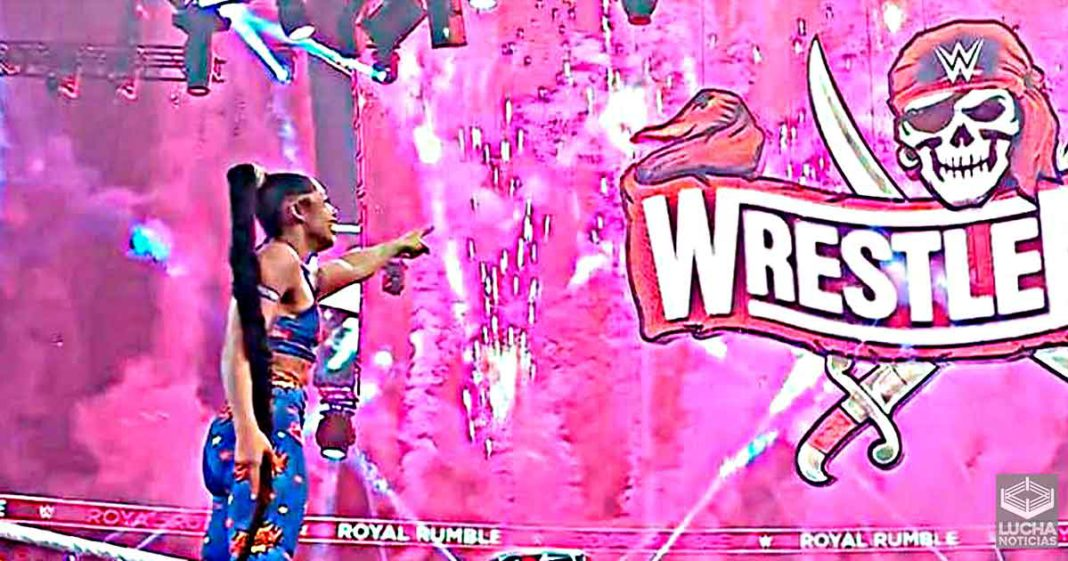 Bianca Belair no sabía que iba a hacer historia en Royal Rumble