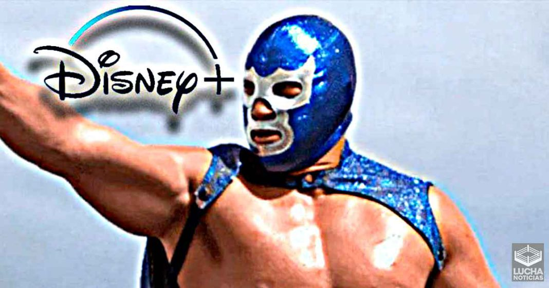 Blue Demon Jr. didn't want to show his face in meetings with Disney