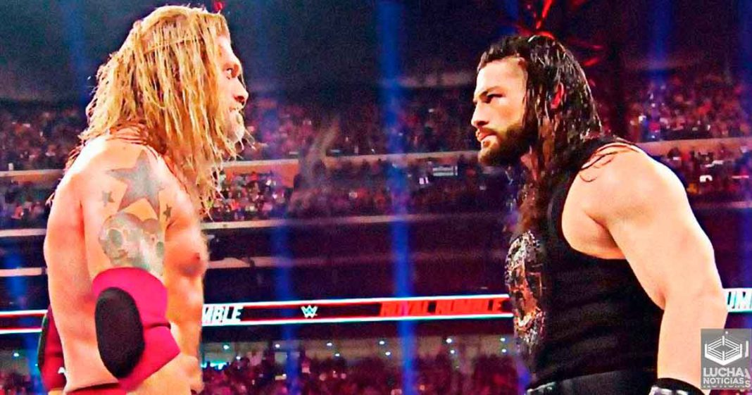 Edge reveals he always wanted to face Roman Reigns while he was injured