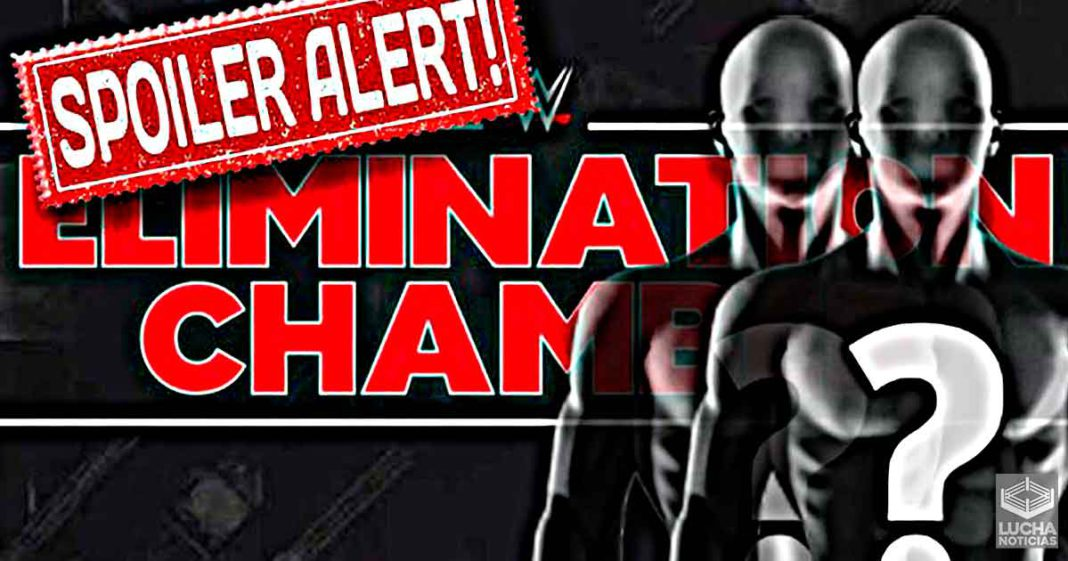 This is WWE's plan to complete the Elimination Chamber poster