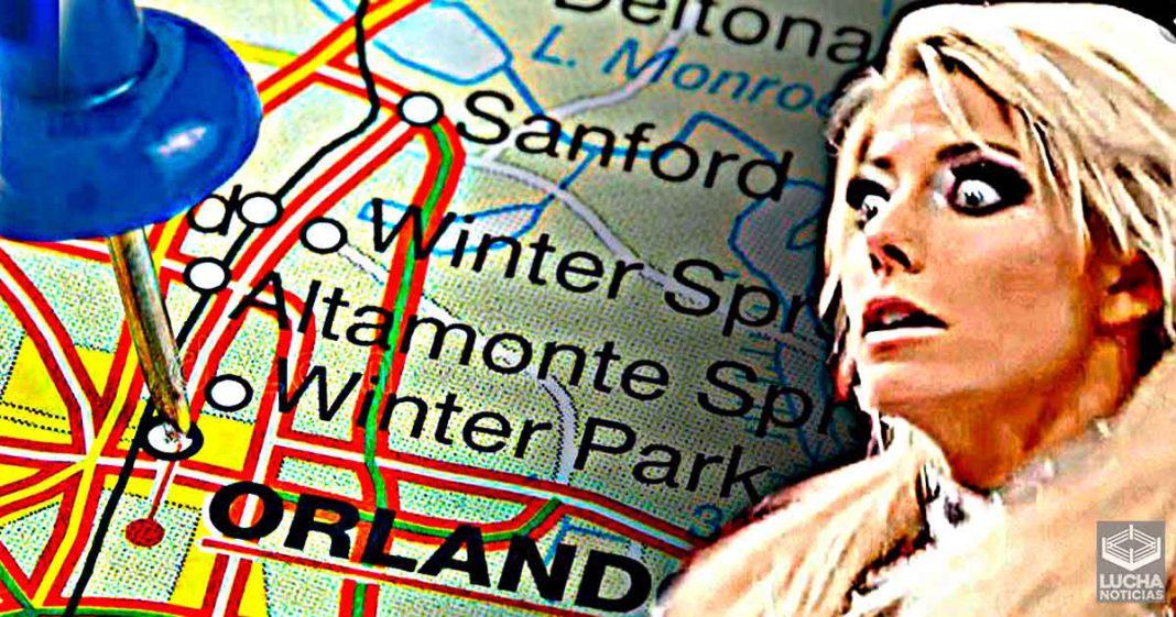 Fanático obsesionado prometió visitar la casa de Alexa Bliss en Orlando