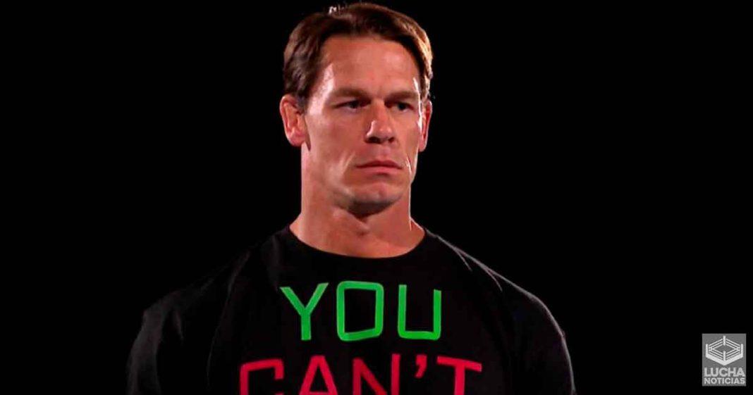 John Cena vuelve a confirmar que no estará en WrestleMania 37