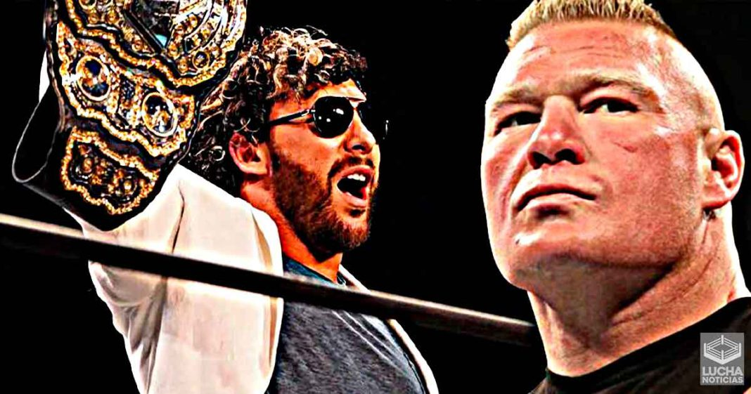Kenny Omega talks about the possibility of facing Brock Lesnar
