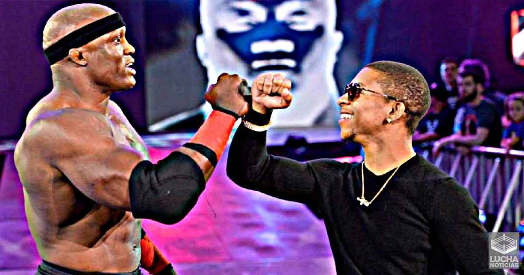 Lio Rush habla del nuevo empuje a Bobby Lashley en WWE