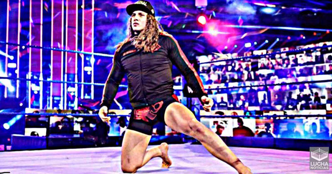 Matt Riddle ganará $400000 dólares al año en su nuevo contrato con WWE