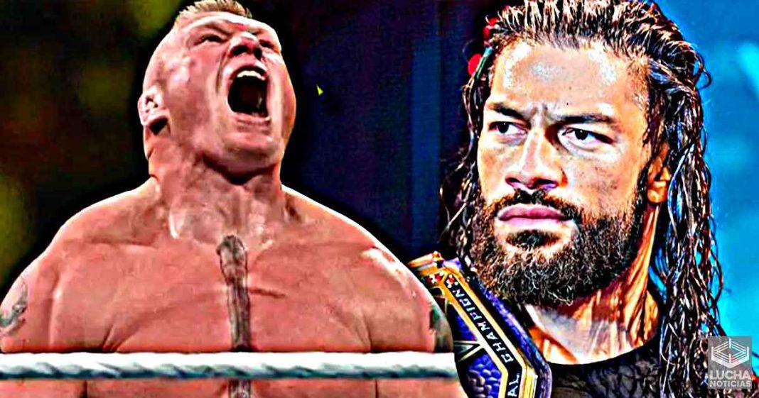 Roman Reigns vs Brock Lesnar está considesandose para WrestleMania 37