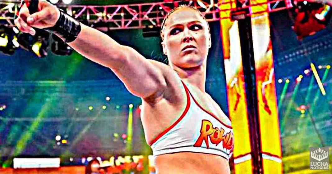 Sasha Banks dice que ocupó el lugar de Ronda Rousey