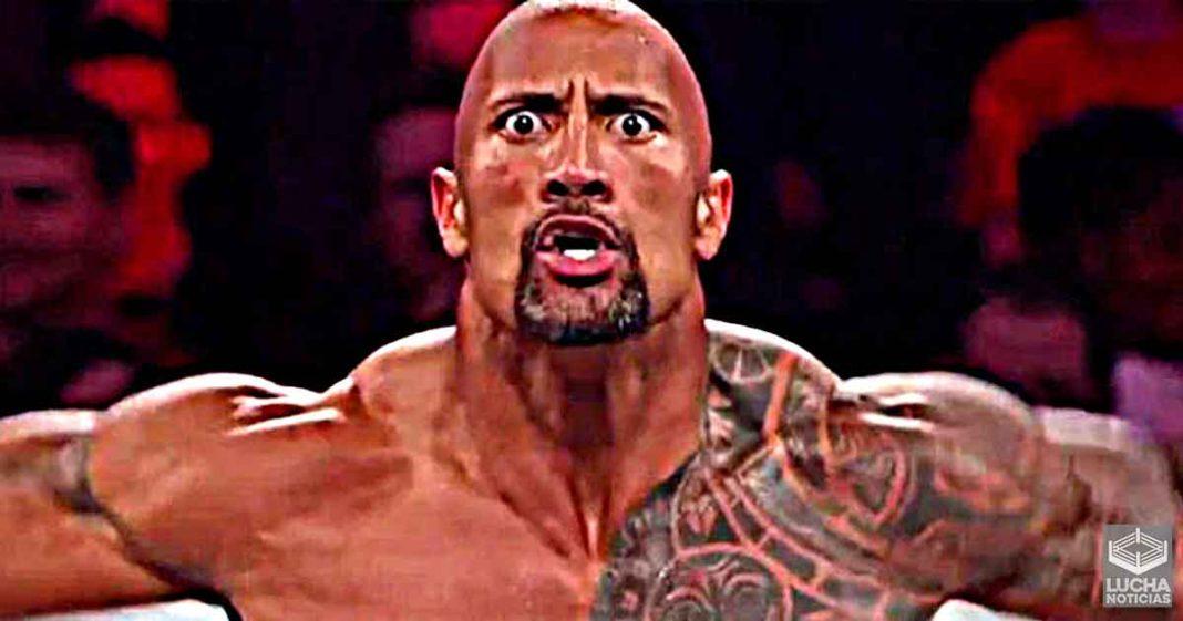 The Rock estaba furioso por final fallido en lucha por el campeonato de la WWE