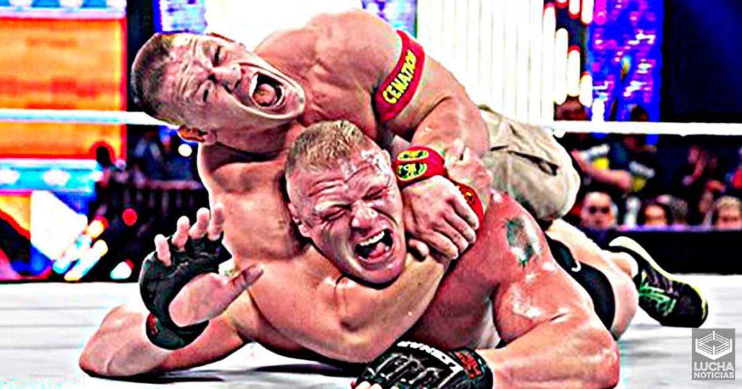 WWE Hall Of Famer le dio a John Cena su llave de rendicón STF