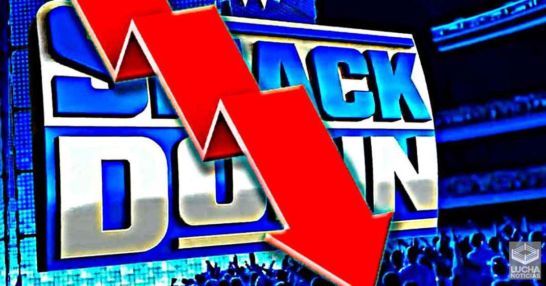 WWE SmackDown cae en sus ratings y tiene menos de 2 millones de espectadores