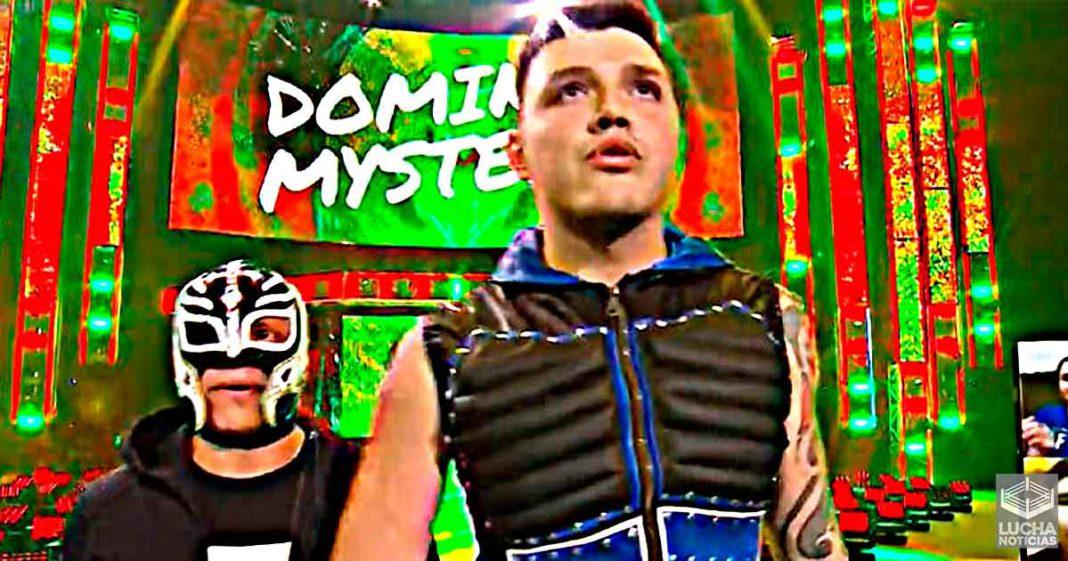 WWE está pensando aún en poner una máscara en Dominik Mysterio